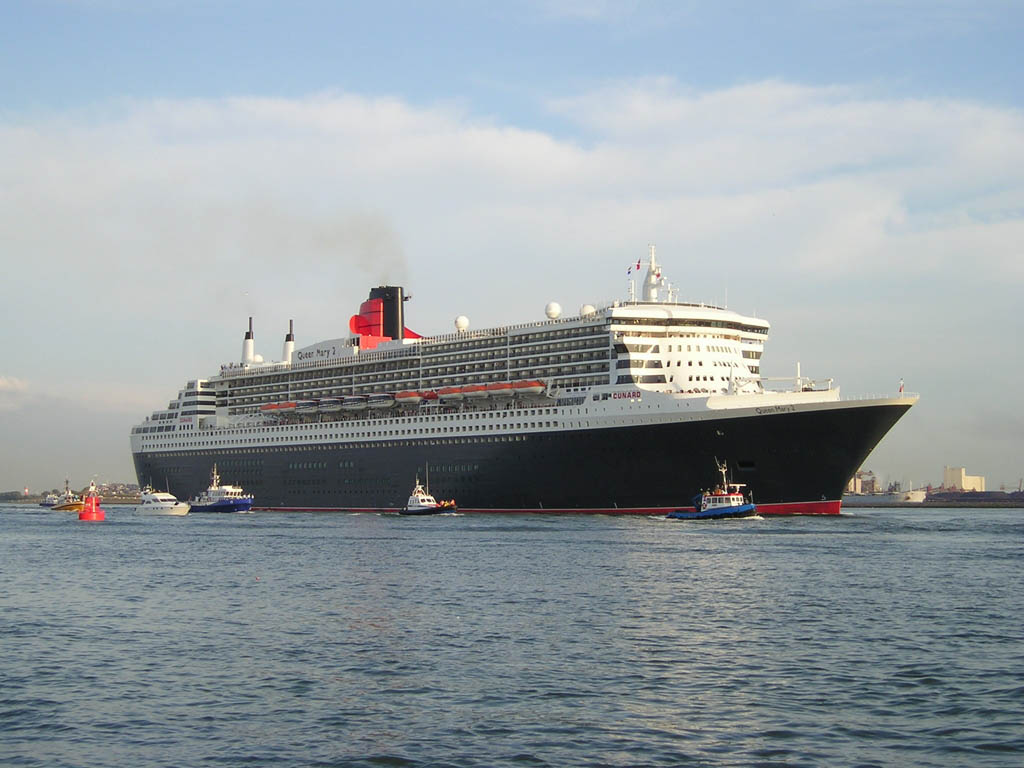 Queen Mary II, Cunard Line